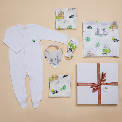 London Design Baby Gift Set