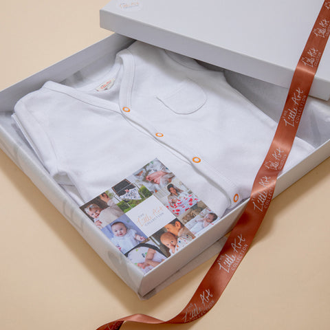 Baby Sleepsuit In Little Art Collection Gift Box