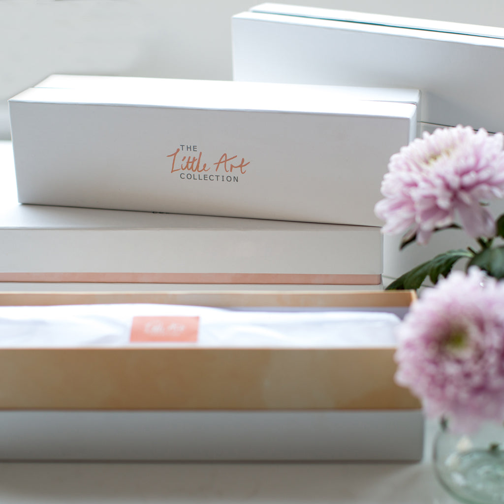 Image of tissue lined gift box