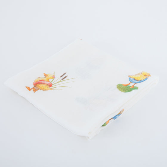 Duckling Bamboo Muslins - The Little Art Collection