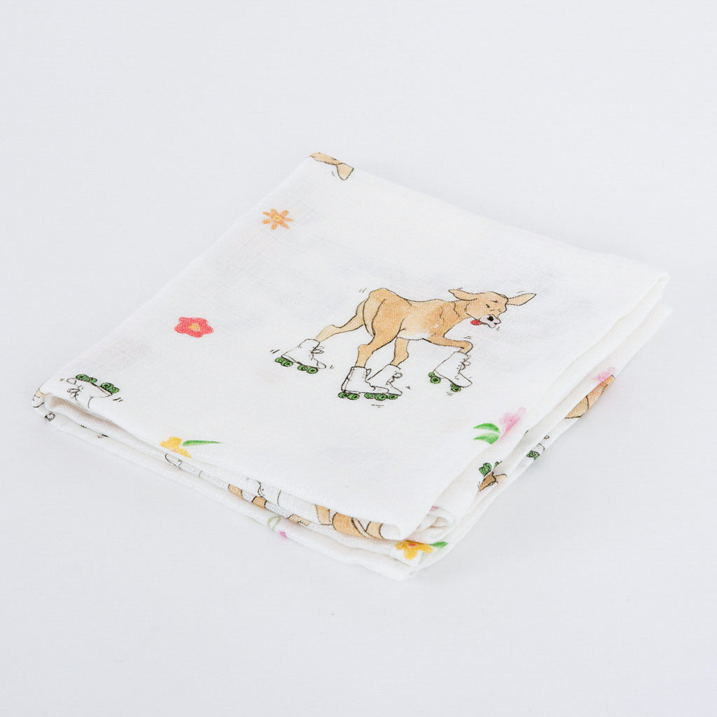 Cow Bamboo Muslins