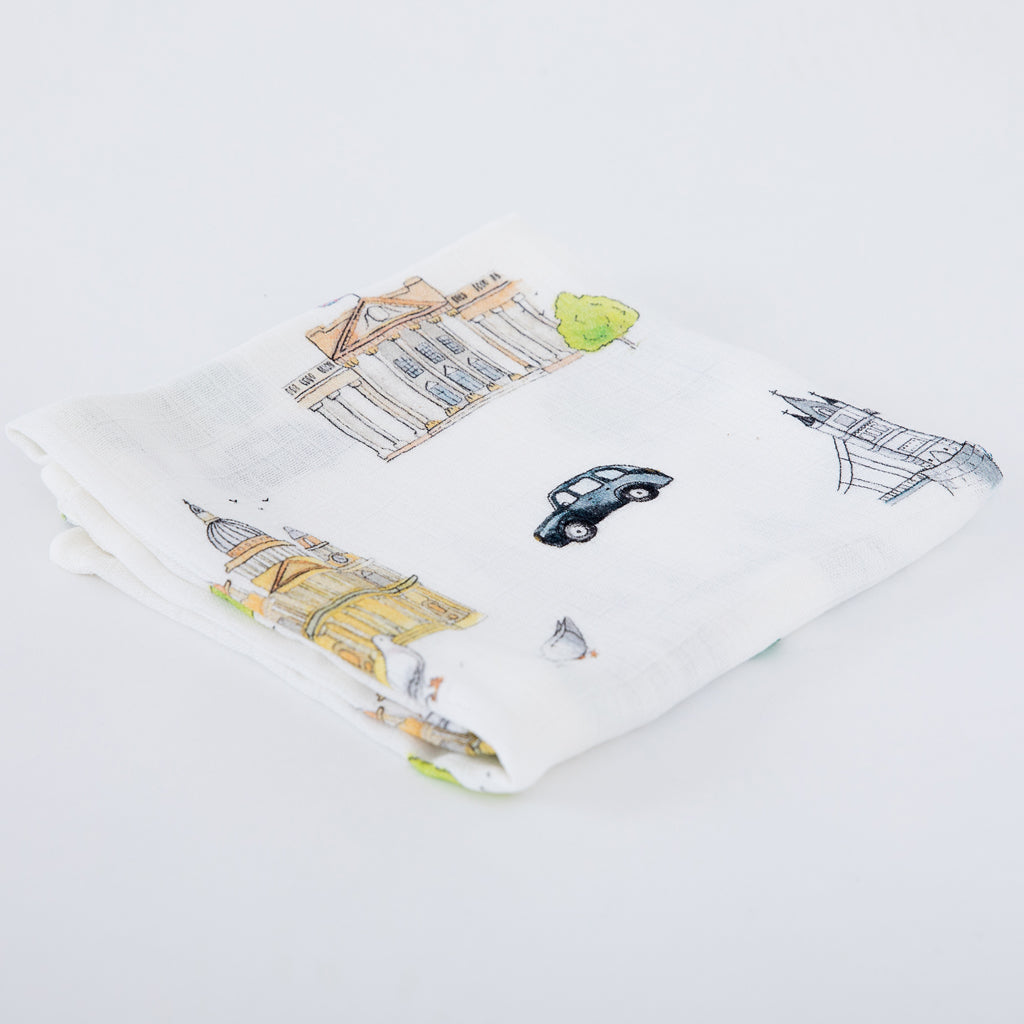 London Bamboo Muslins - The Little Art Collection