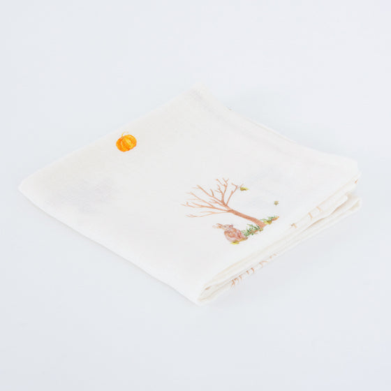 Image of rabbit muslin squares