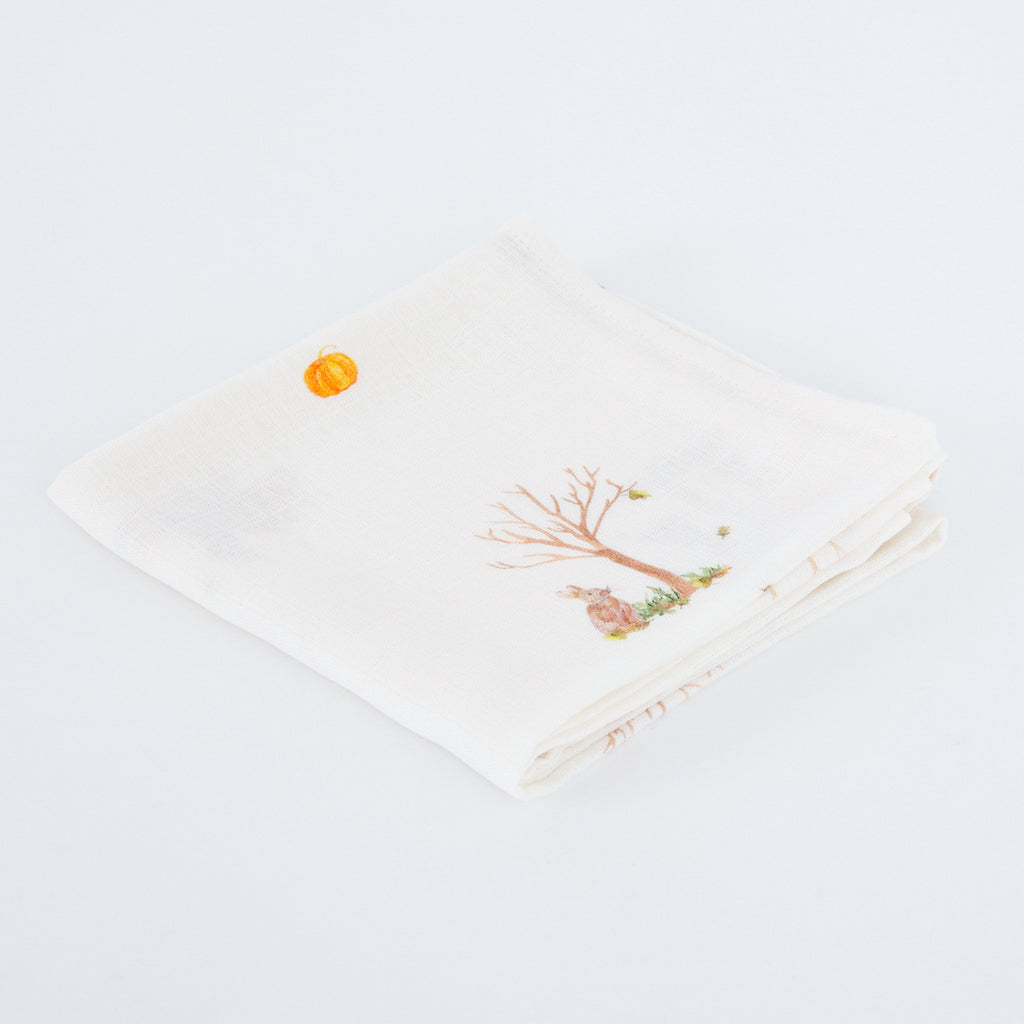 Rabbit Bamboo Muslins - The Little Art Collection
