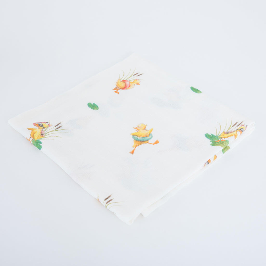 duckling swaddle blankets