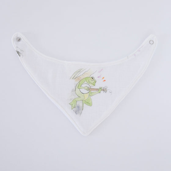 Frog Dribble Bibs - The Little Art Collection