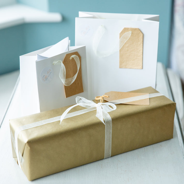 Gift Wrap with Personal Message - The Little Art Collection