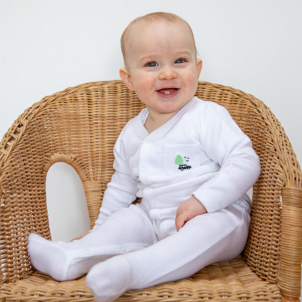 Luxury Baby Gifts Set (London Swaddle) - The Little Art Collection