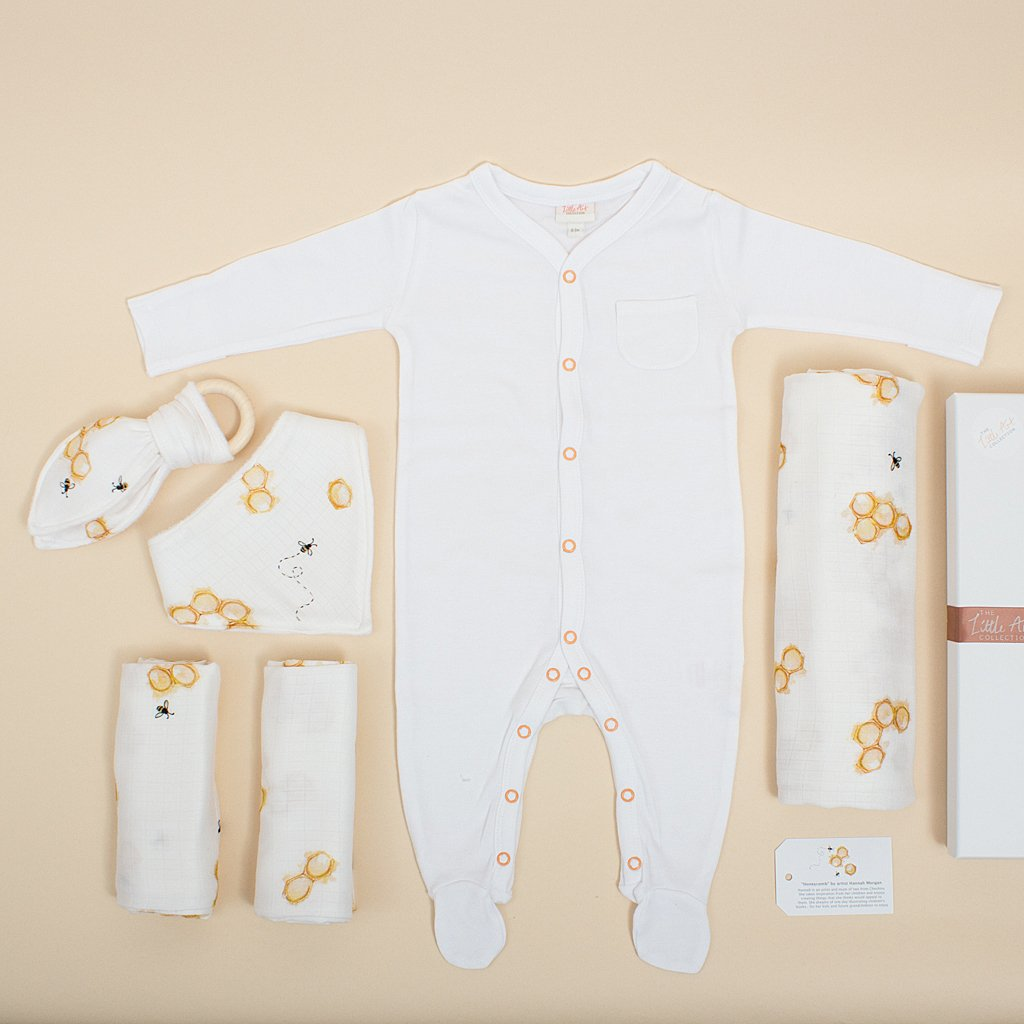 luxury natural baby gifts set