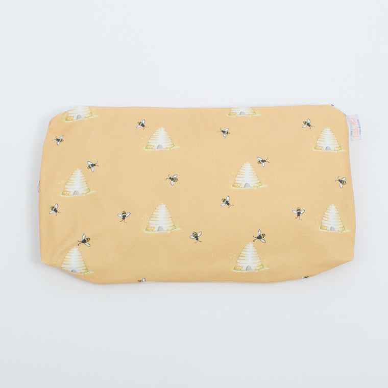 Honeycomb Nappy Changing Pouch (Nappy Travel Pouch) - The Little Art Collection
