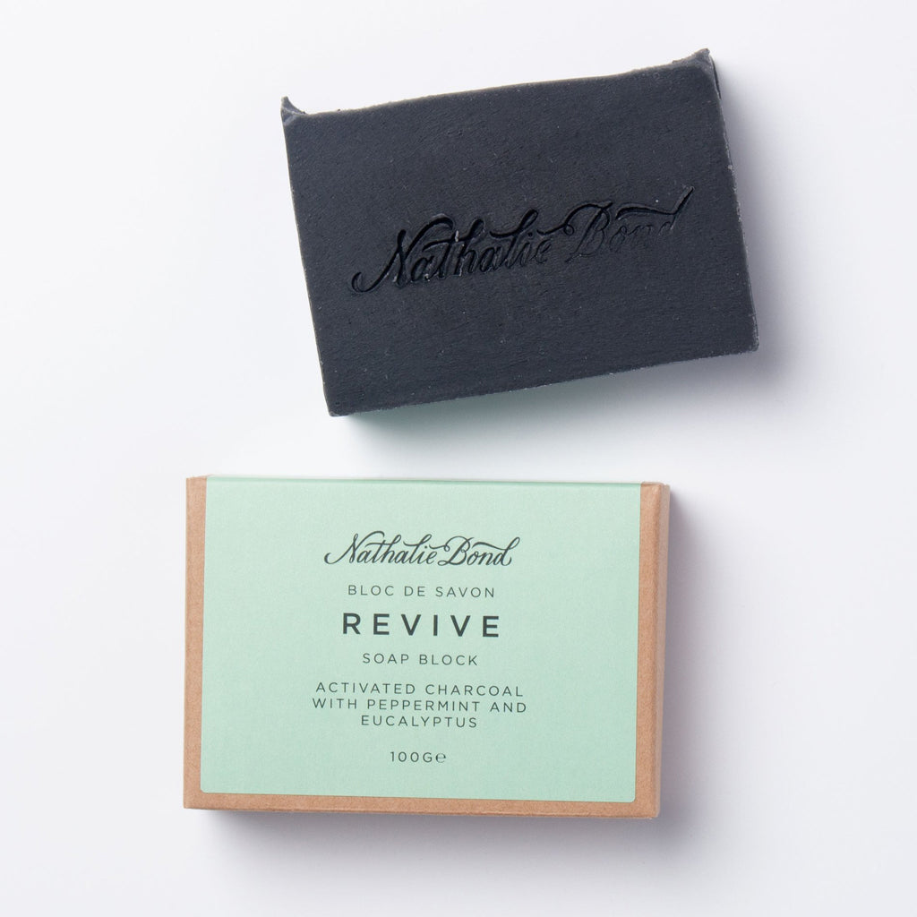 Activated Charcoal Soap Bar (Revive) - The Little Art Collection