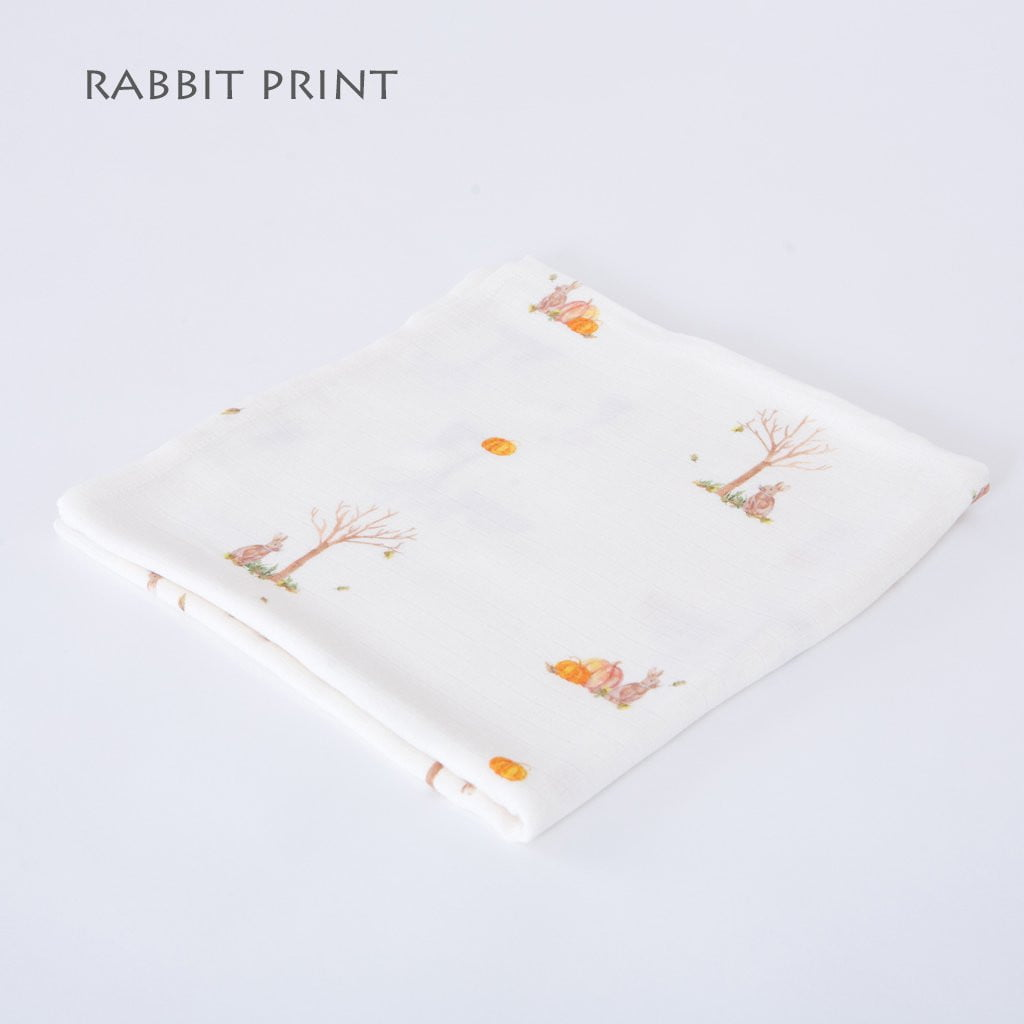 Rabbit swaddle blankets