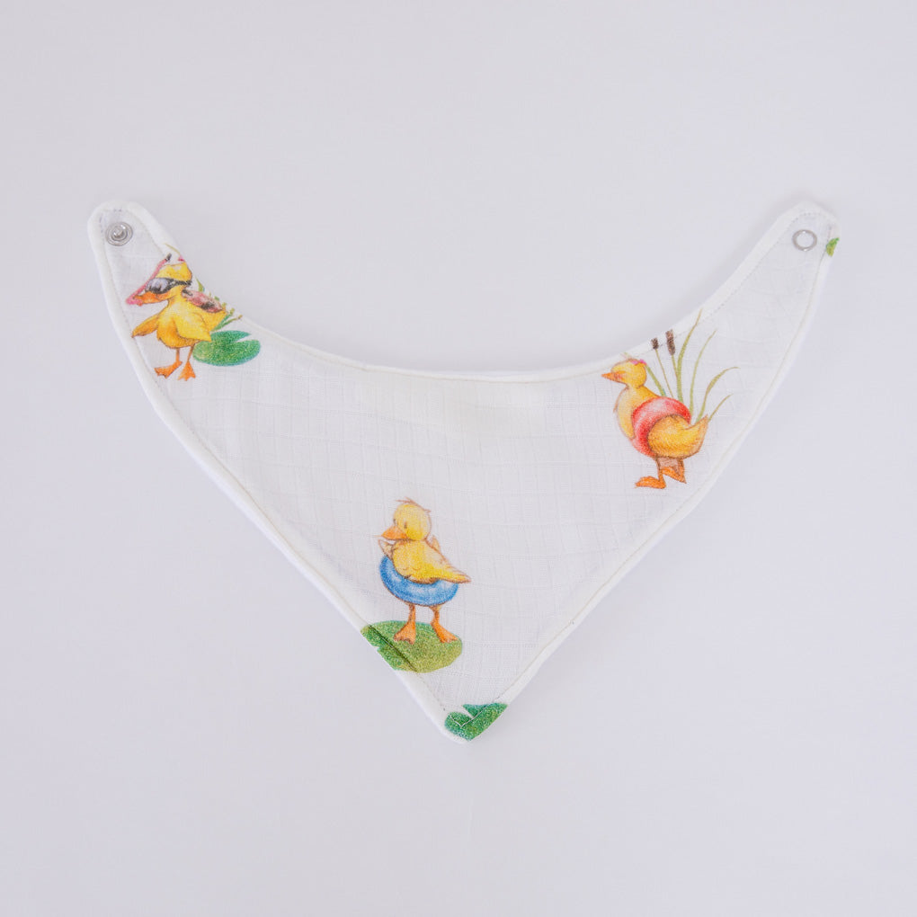 Image of Duckling dribble bib