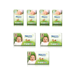 Starter Pack Moltex Eco Nappies For First Month - Free Delivery
