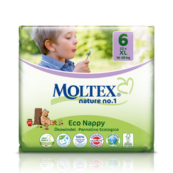 Size 6 / XL Moltex Eco Nappies