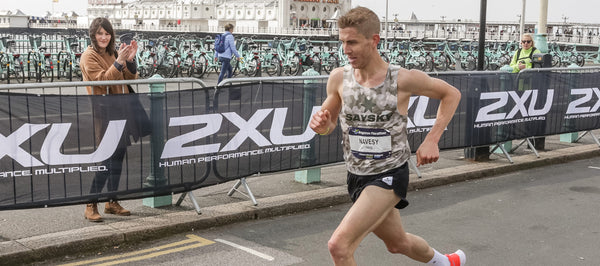 SAYSKY Athlete Paul Navesey: Running