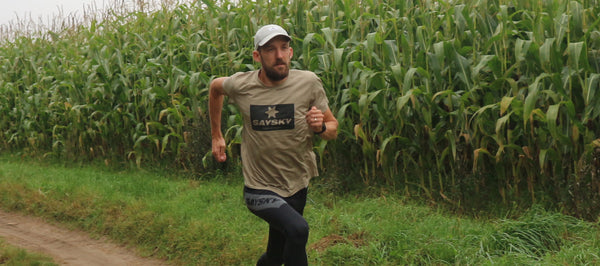 SAYSKY Athlete Tom Wade: Running
