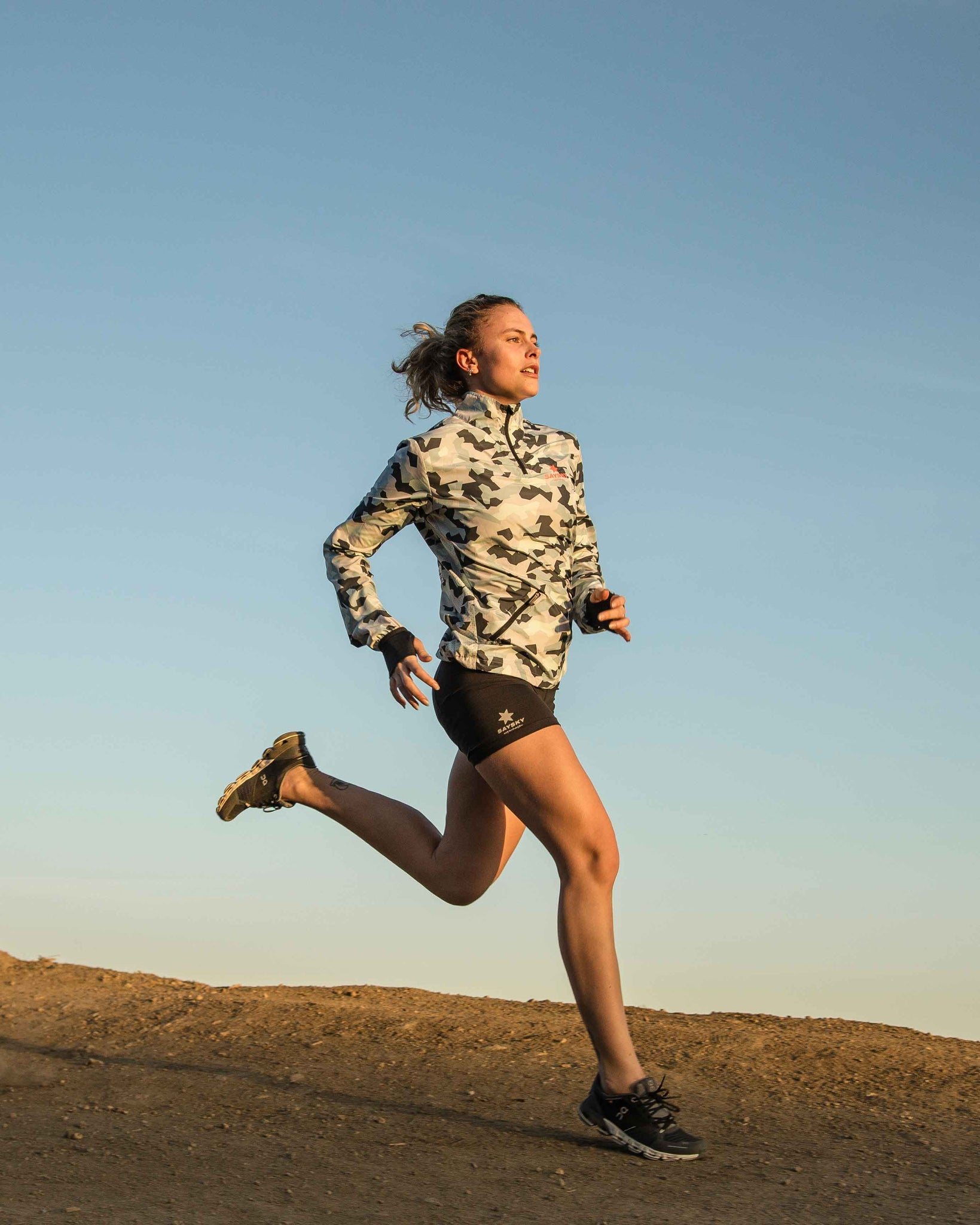 SAYSKY Camouflage running gear