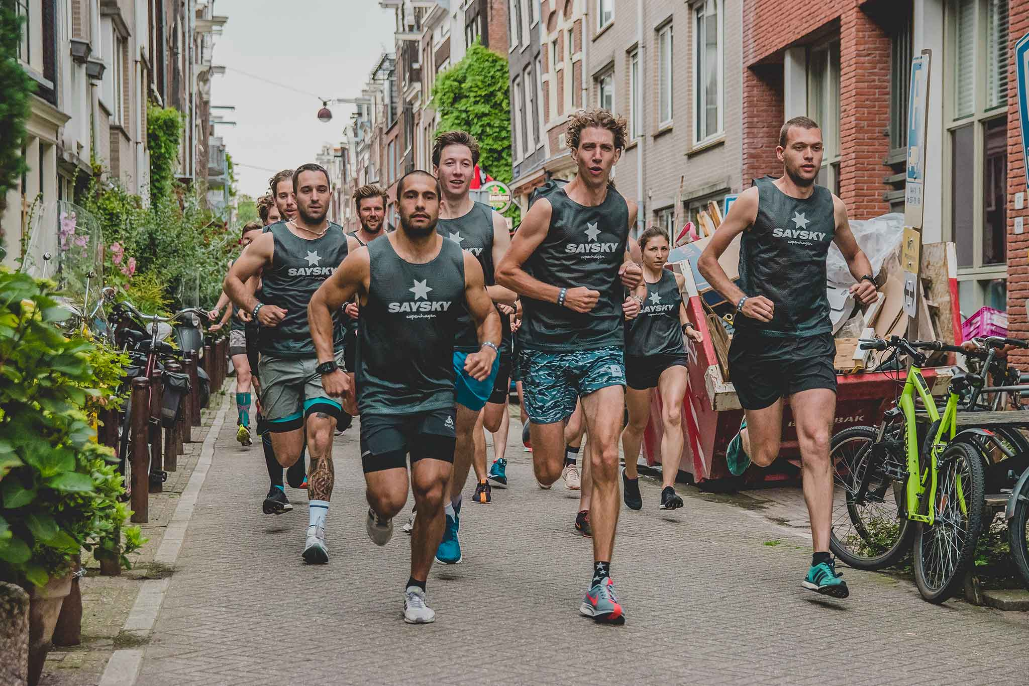 Where to run in Amsterdam SAYSKY running guide
