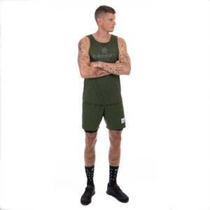 SAYSKY CLASSIC ILLUMINATE SINGLET SINGLET RIFLE GREEN