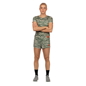 SAYSKY Wmns Tiger Pace Shorts WMNS PACE SHORTS TIGER CAMO