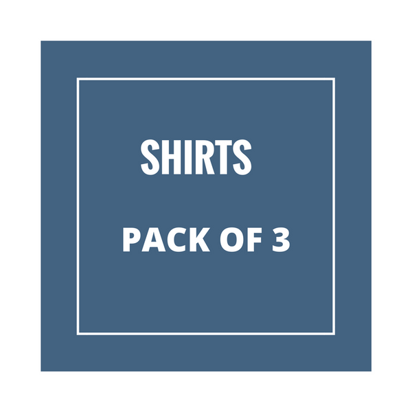 Half sleeve Shirt Combo Pack