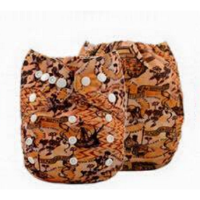 Microsuede Pocket Diaper - YD 04