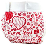 Glad Baby Diaper Cover - Hearts