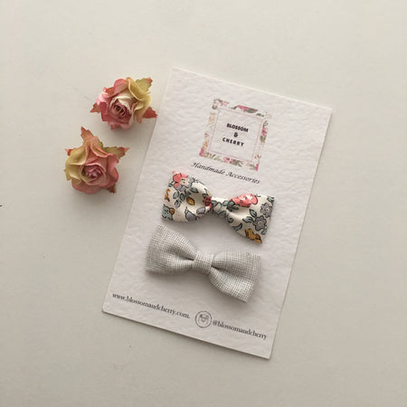 Millie Floral Pigtails Set