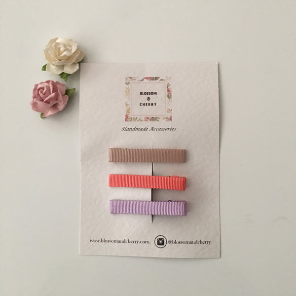 Petersham Spring-Summer Hair Clip Set A