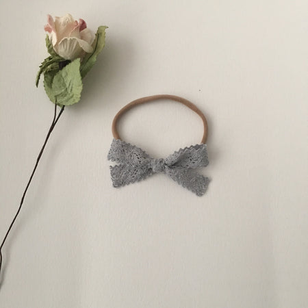 Lola Mini Felt Bow Clip