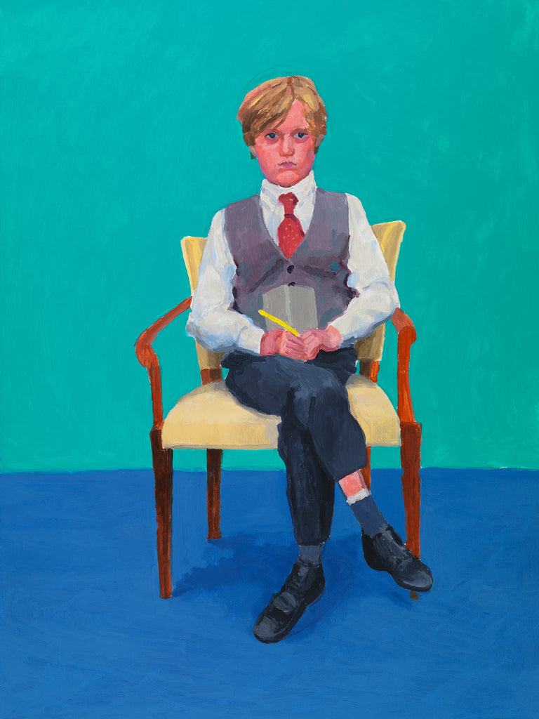 David Hockney portraits.