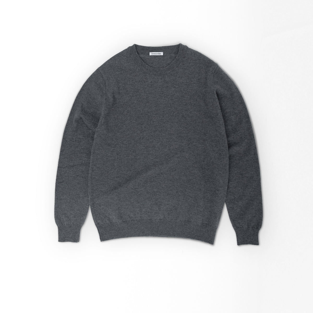 Lambswool Sweater Dark Grey - Unrecorded