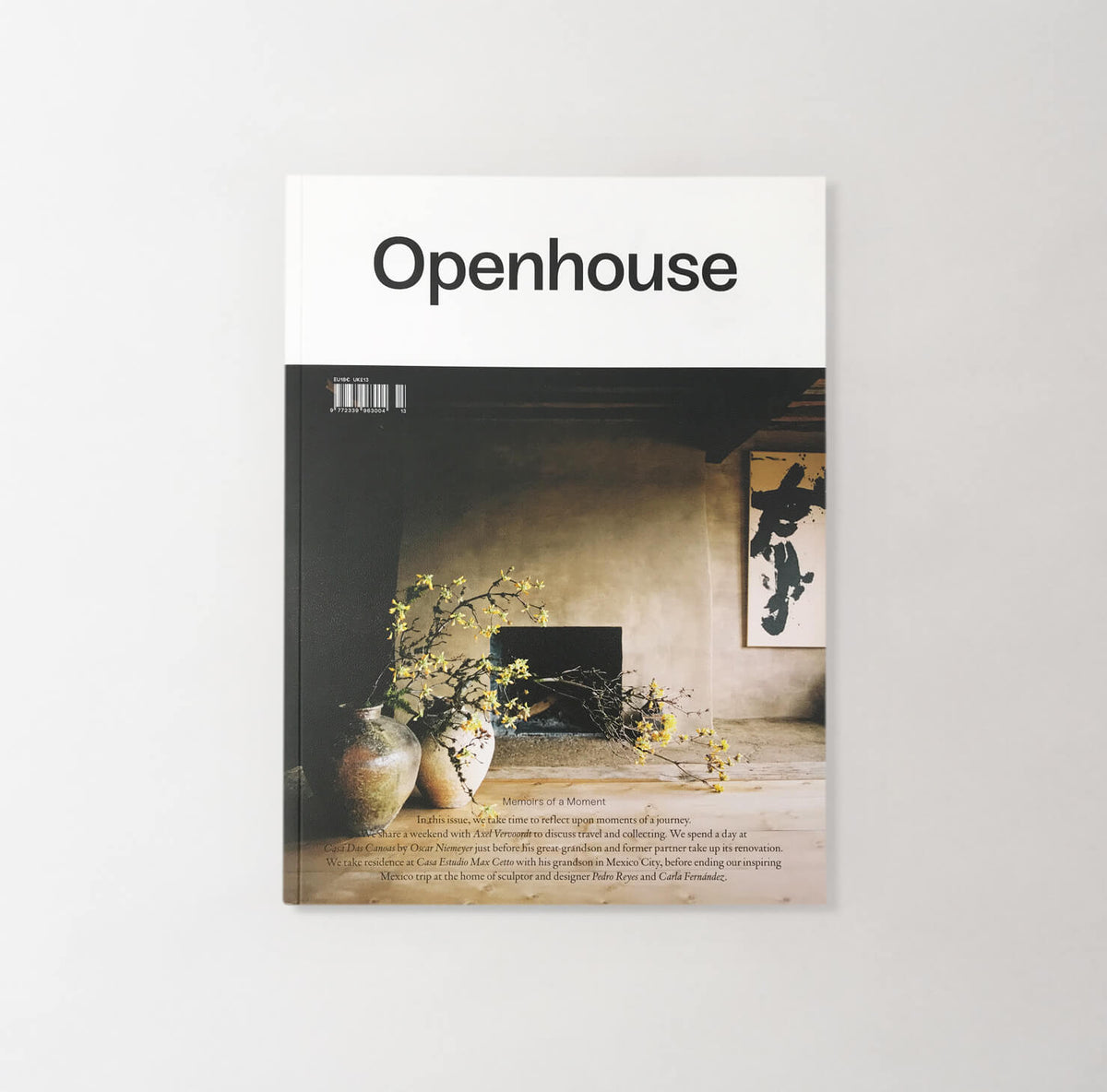 Openhouse Issue Nº13 - Unrecorded