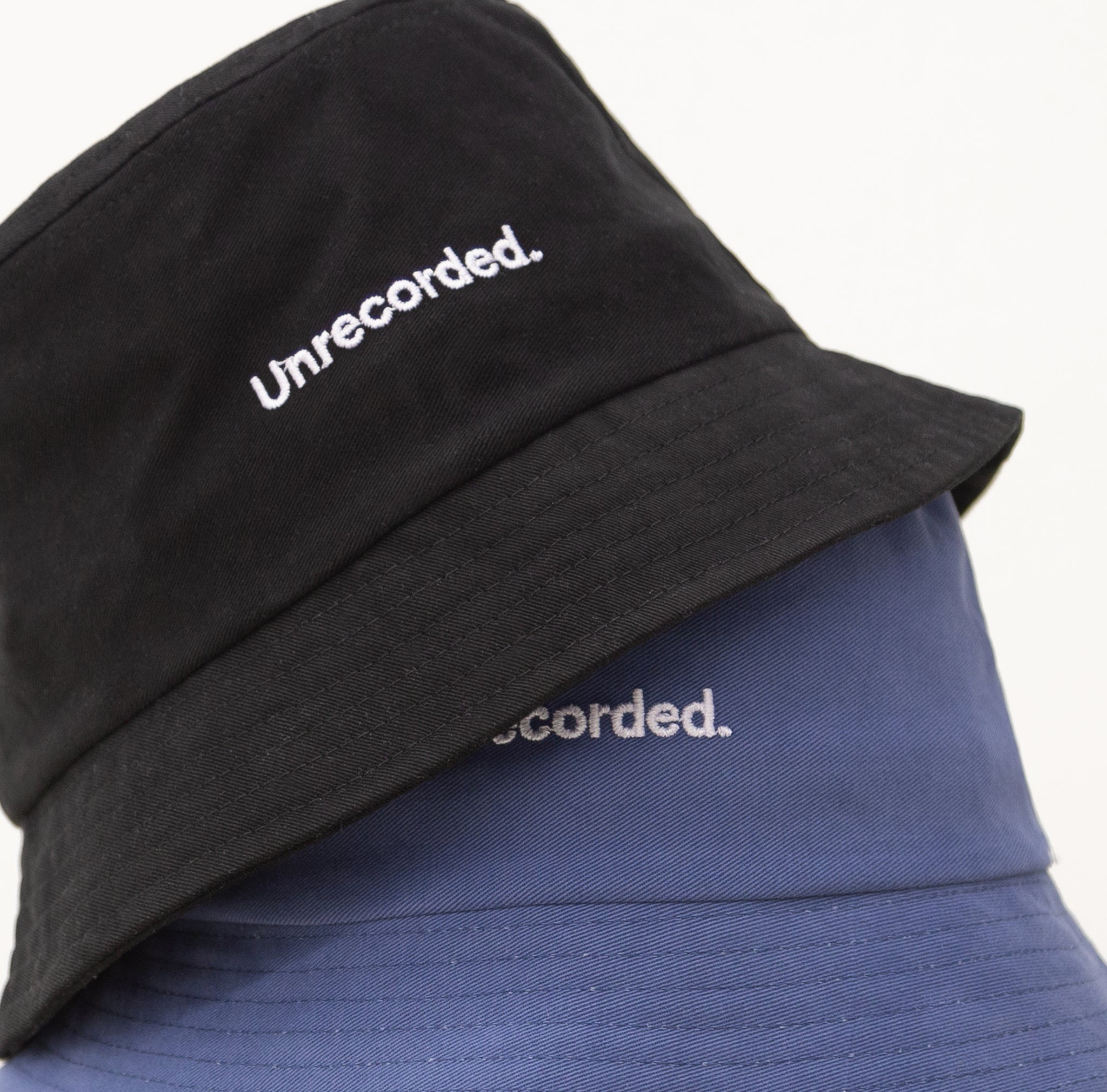 Bucket Hat Black - Unrecorded