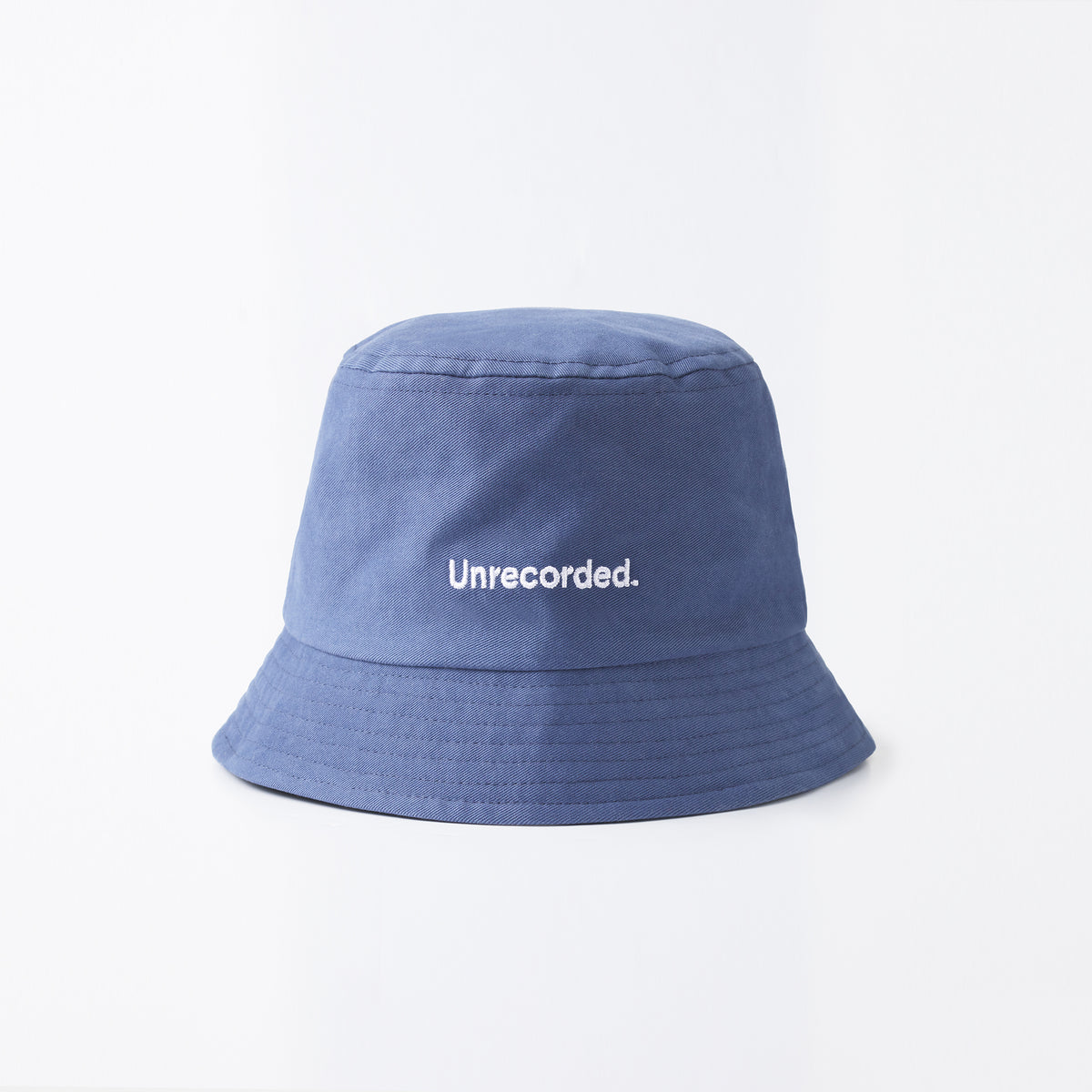Bucket Hat Dusty Blue - Unrecorded