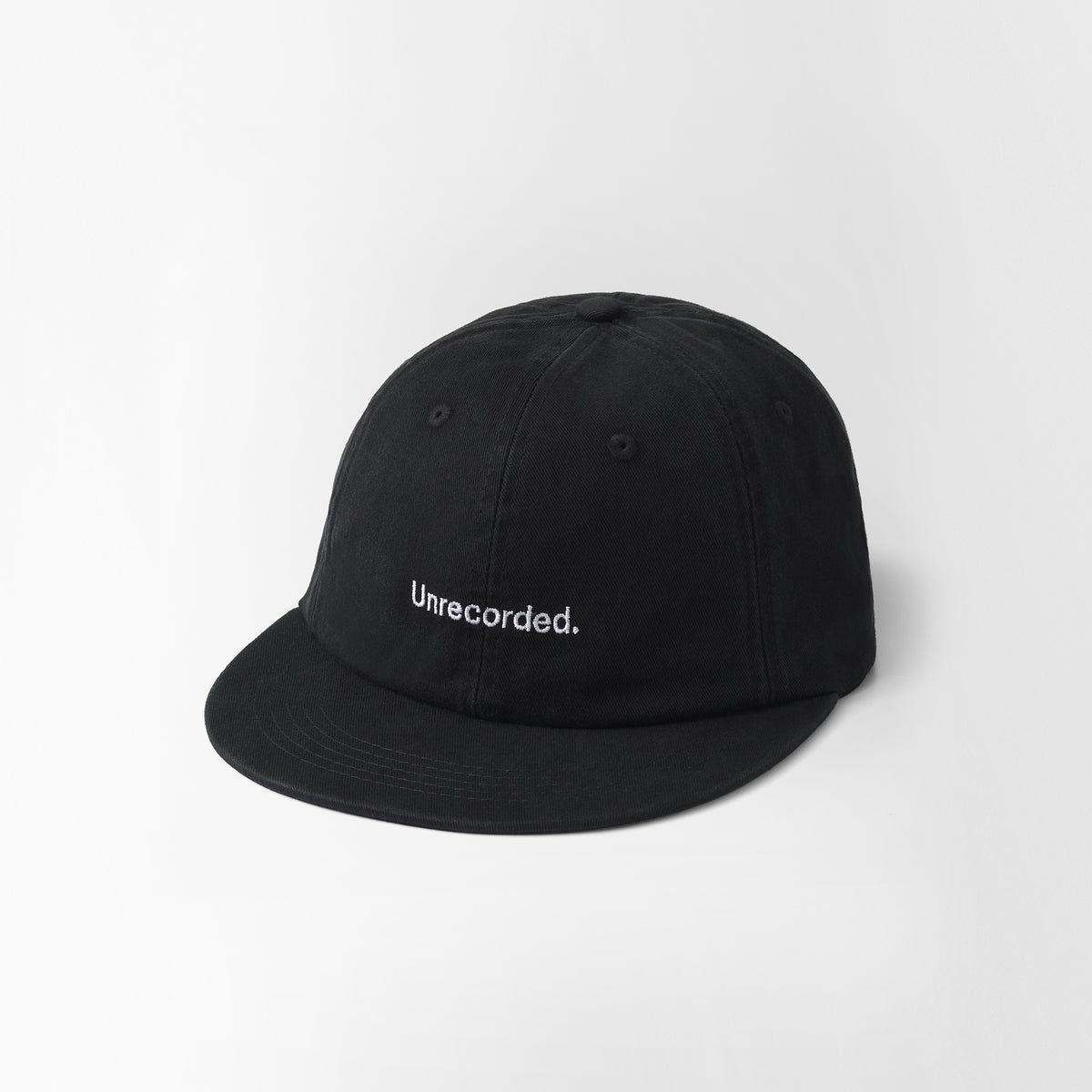 Cap Black flat visor - Unrecorded