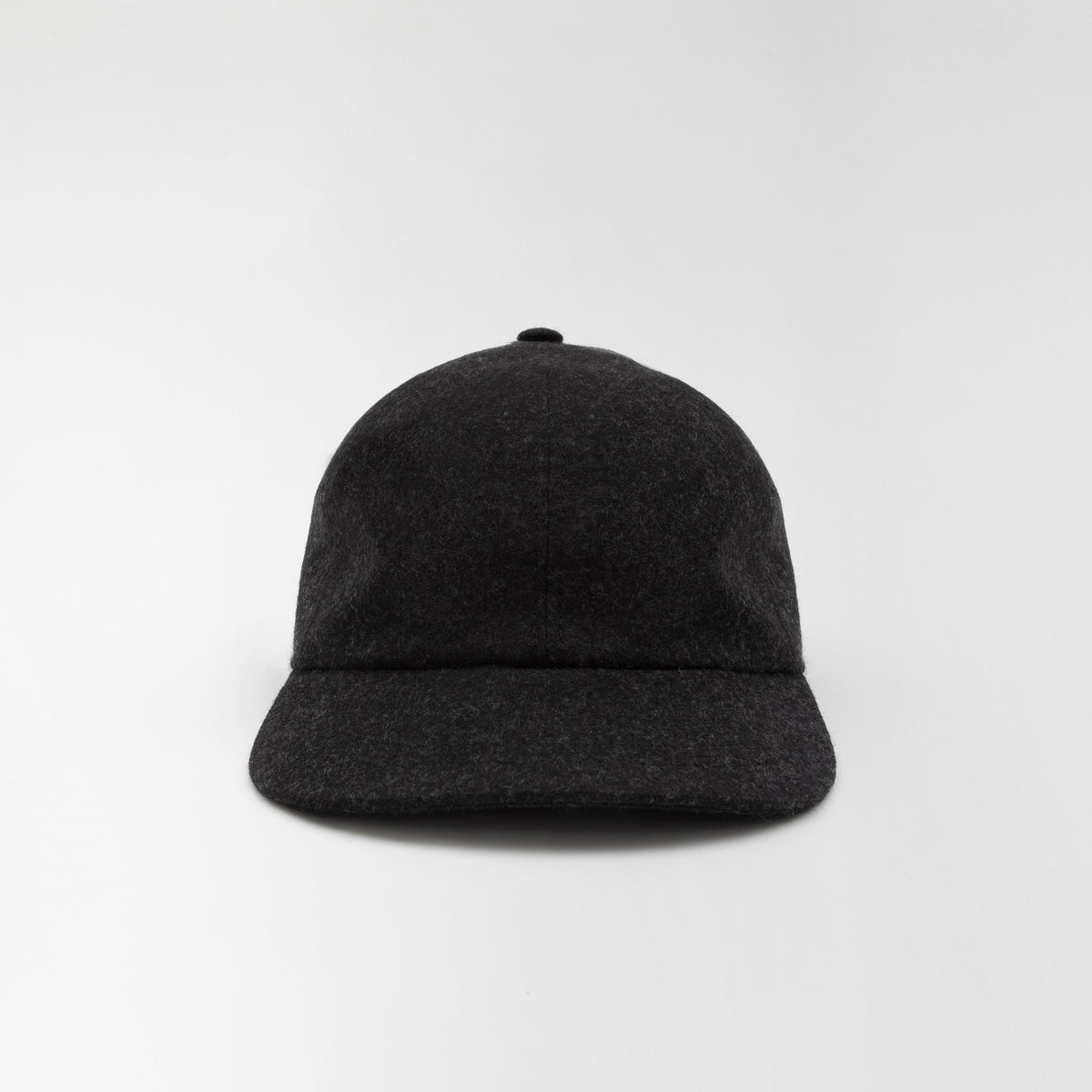 Wool Baseball Cap Grey Melange