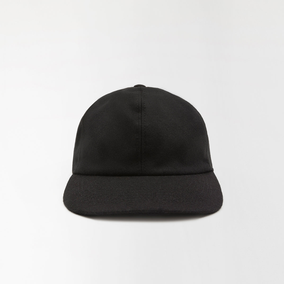 Wool Baseball Cap Black