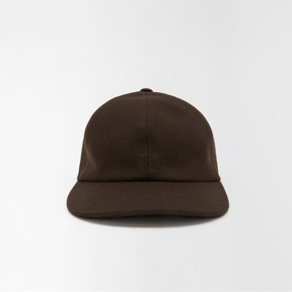 Wool Baseball Cap Brown