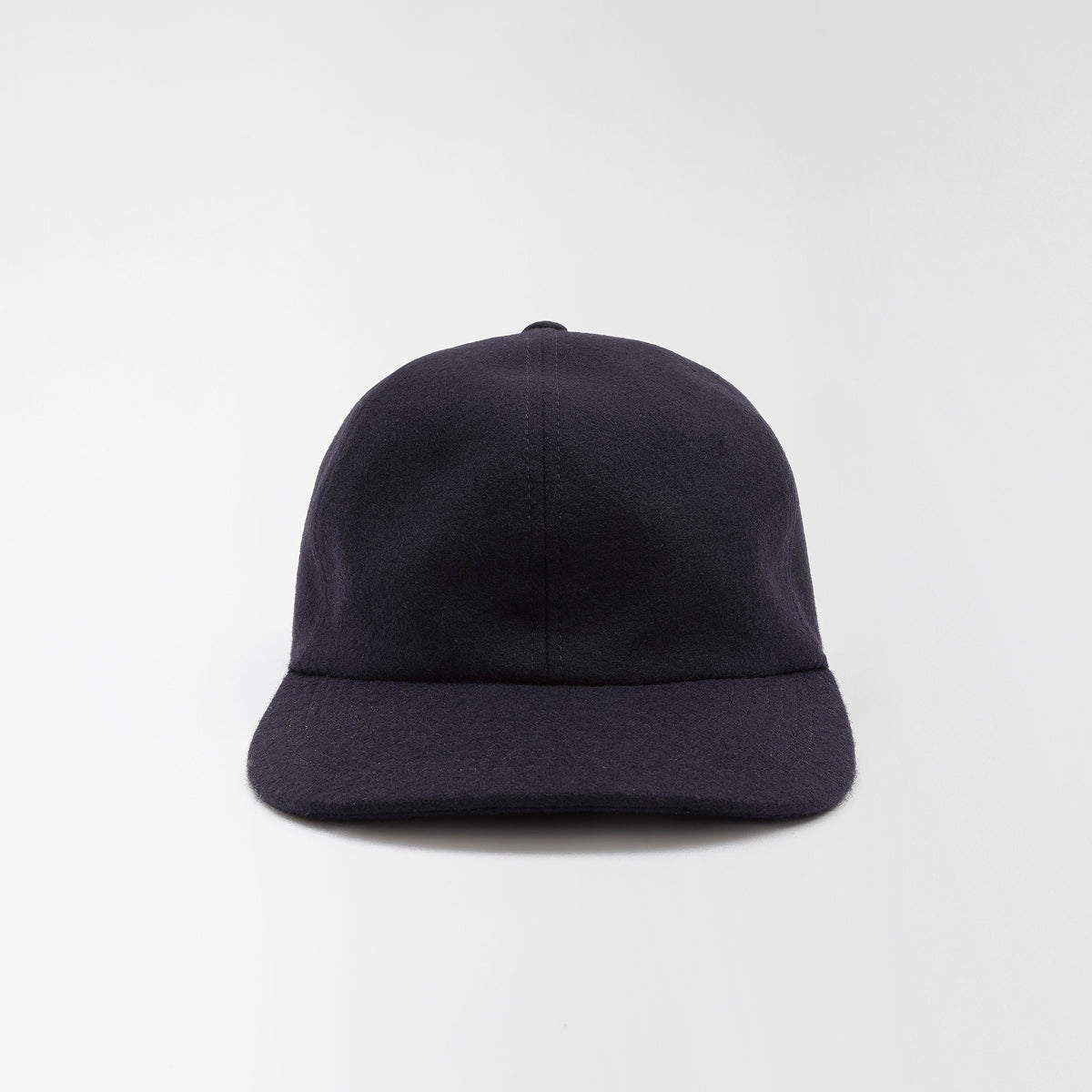 Wool Baseball Cap Navy