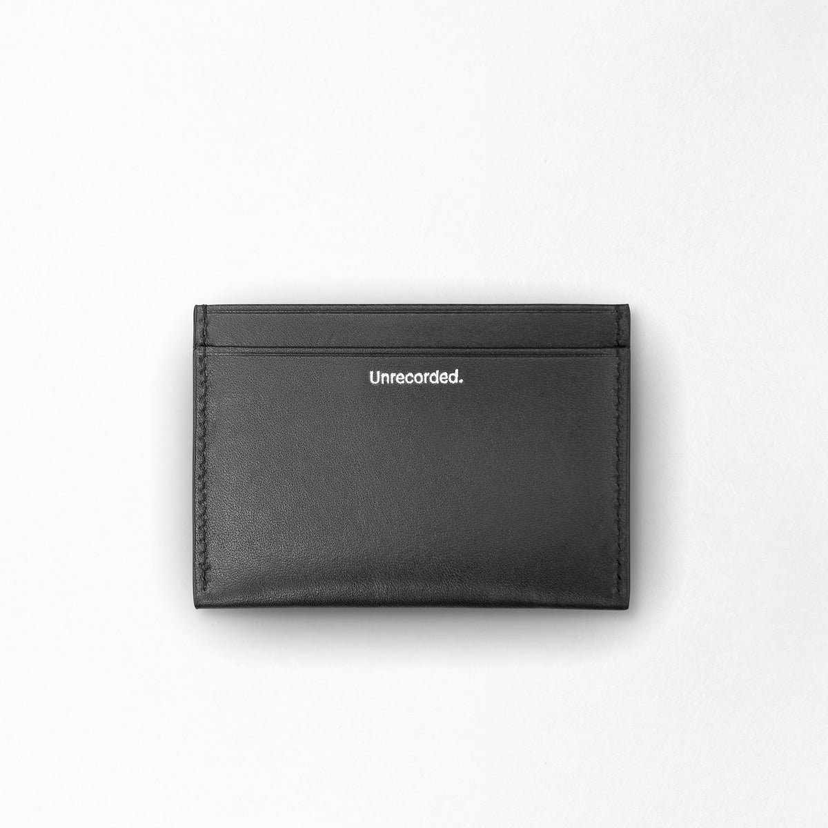 Cardholder Black - Unrecorded