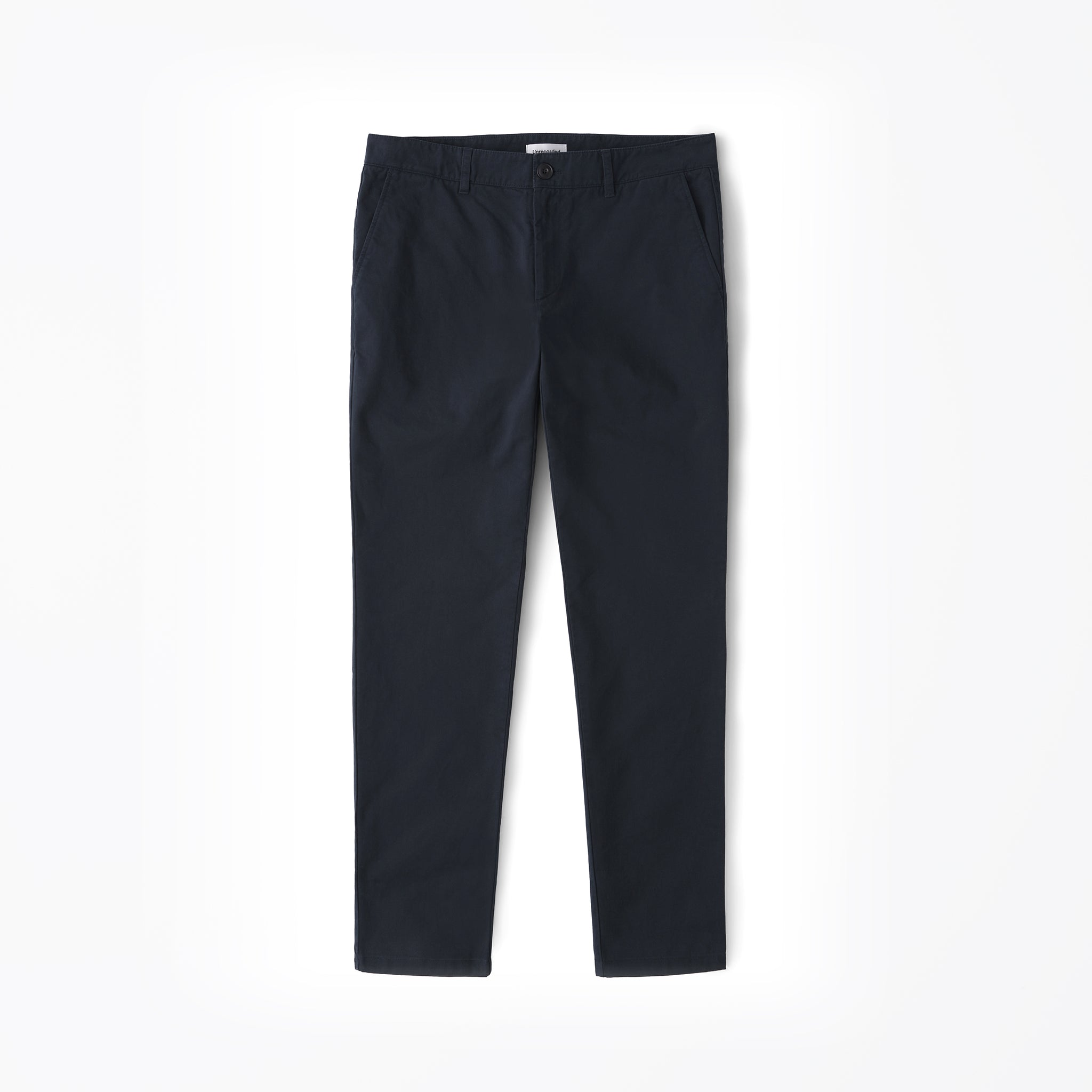 Chino in Navy made from organic cotton - Alternate
