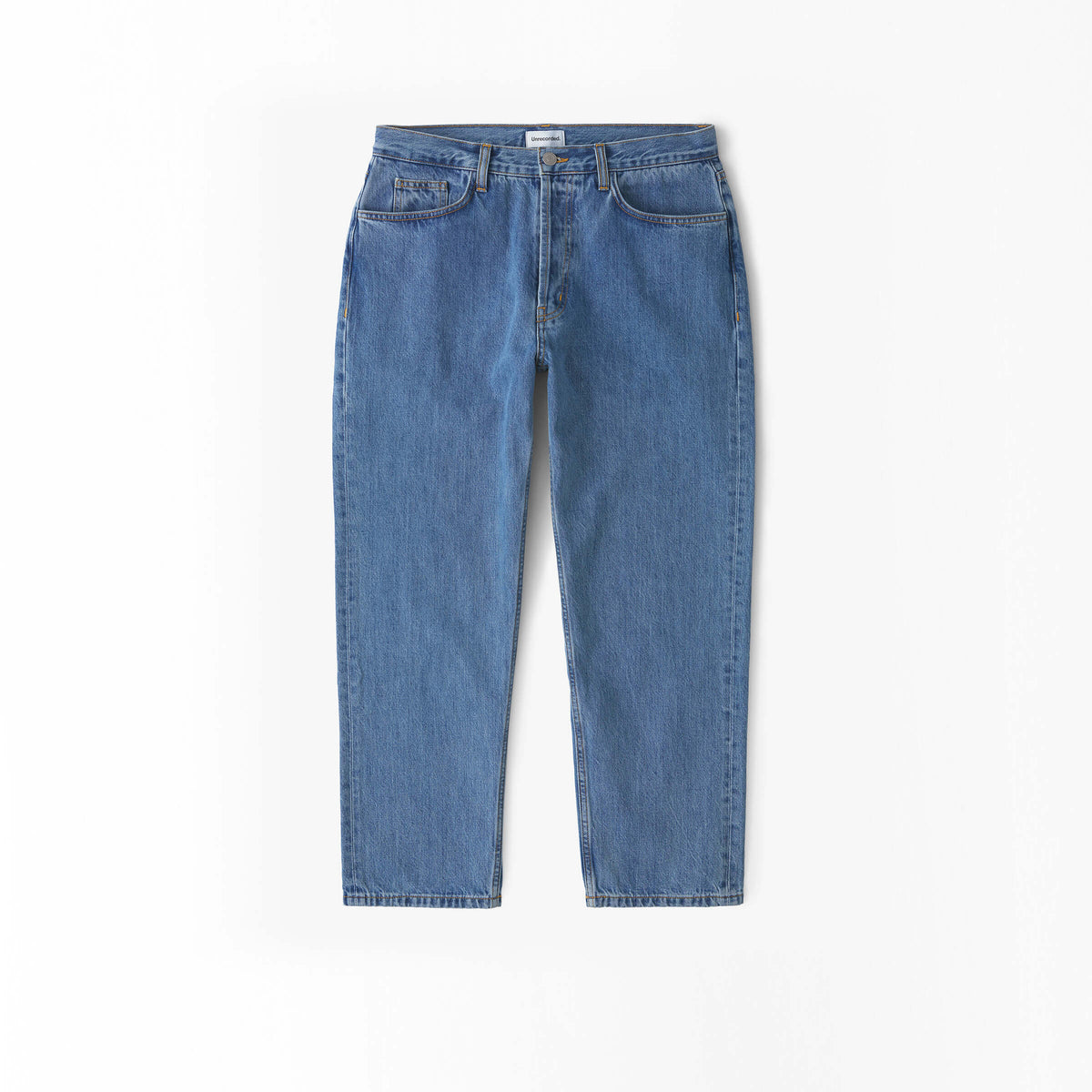 Cropped Jeans in Denim made from organic cotton - Alternate Men - Alternate Women
