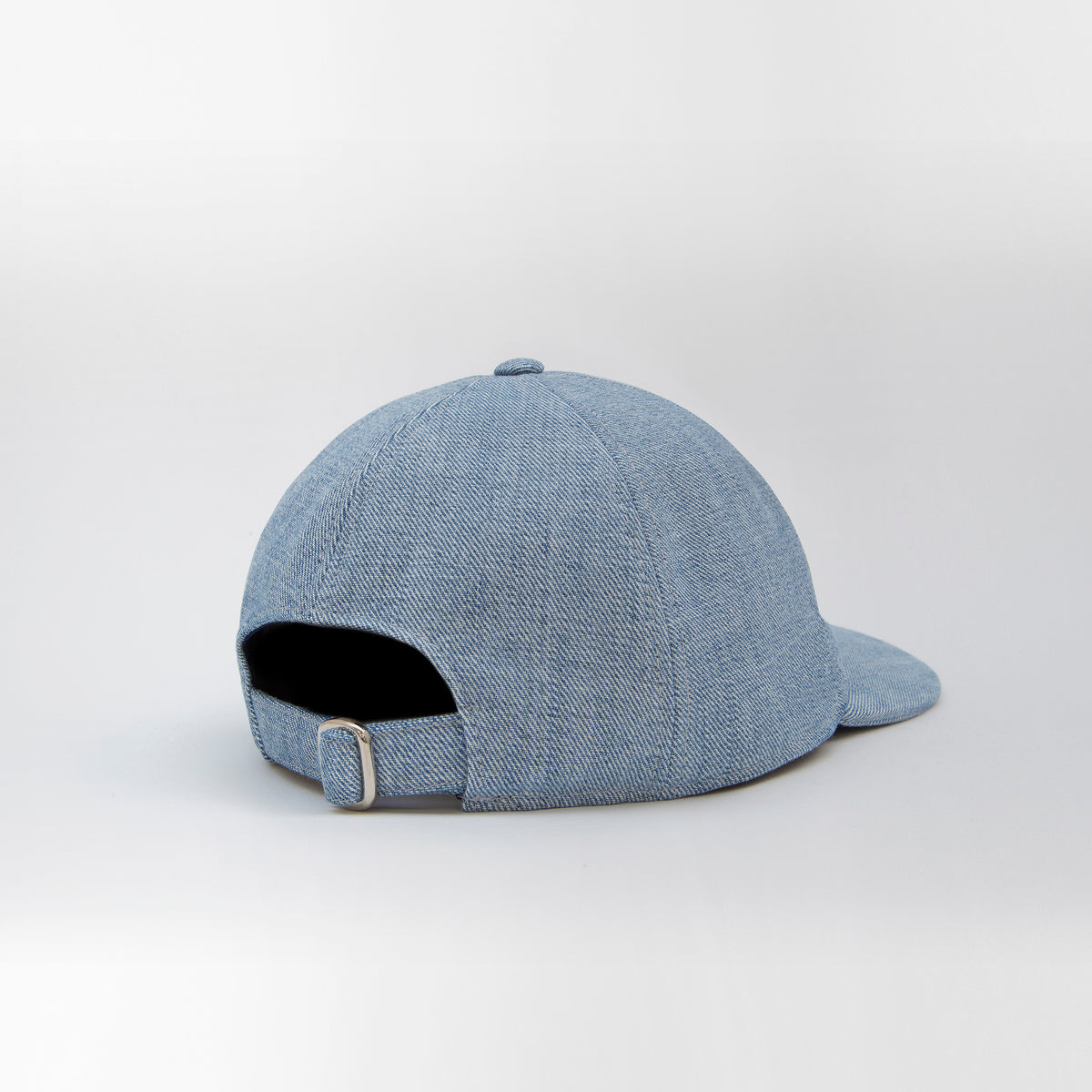 Denim Cap inside out