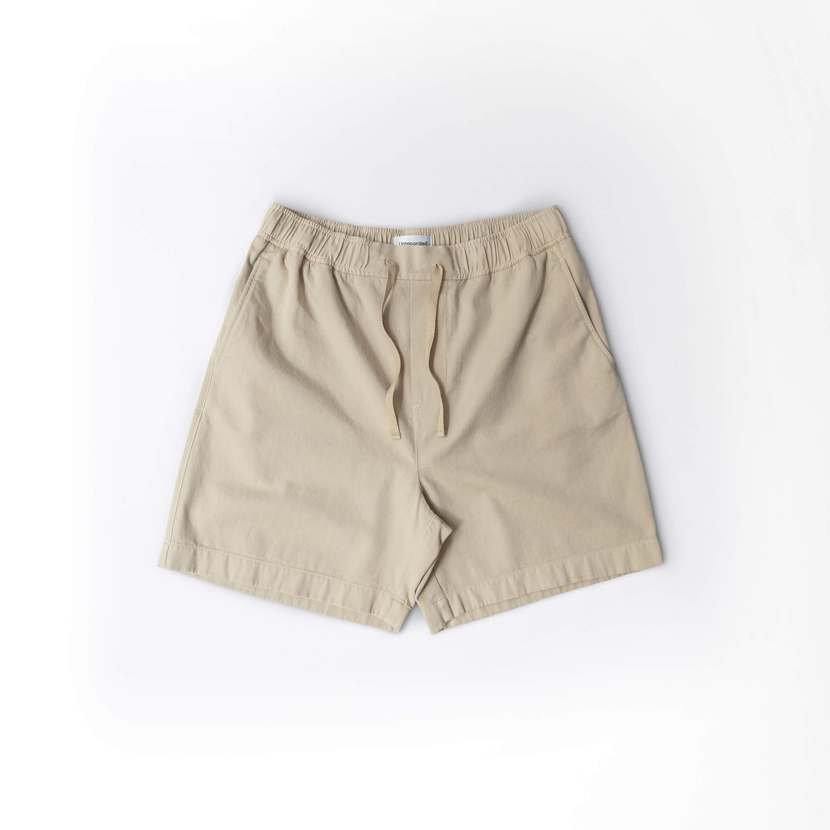 Drawstring Shorts Khaki - Unrecorded