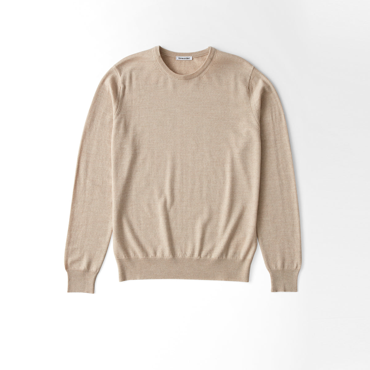 Merino Sweater Sand - Unrecorded