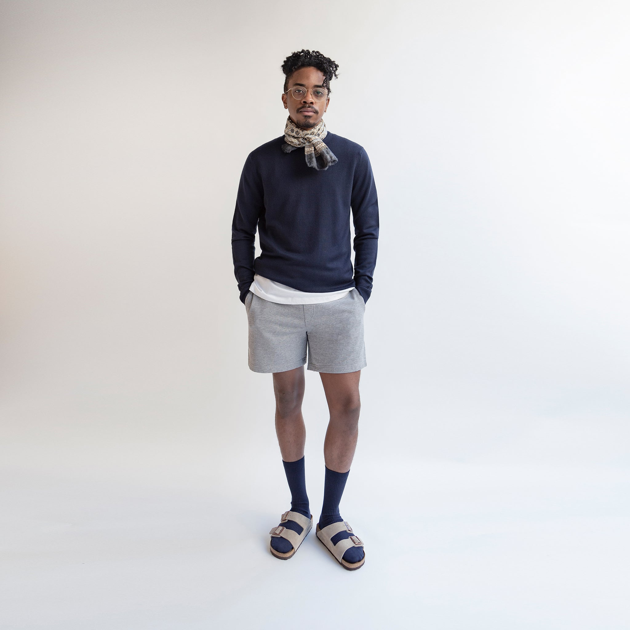 Merino Sweater Navy - Unrecorded