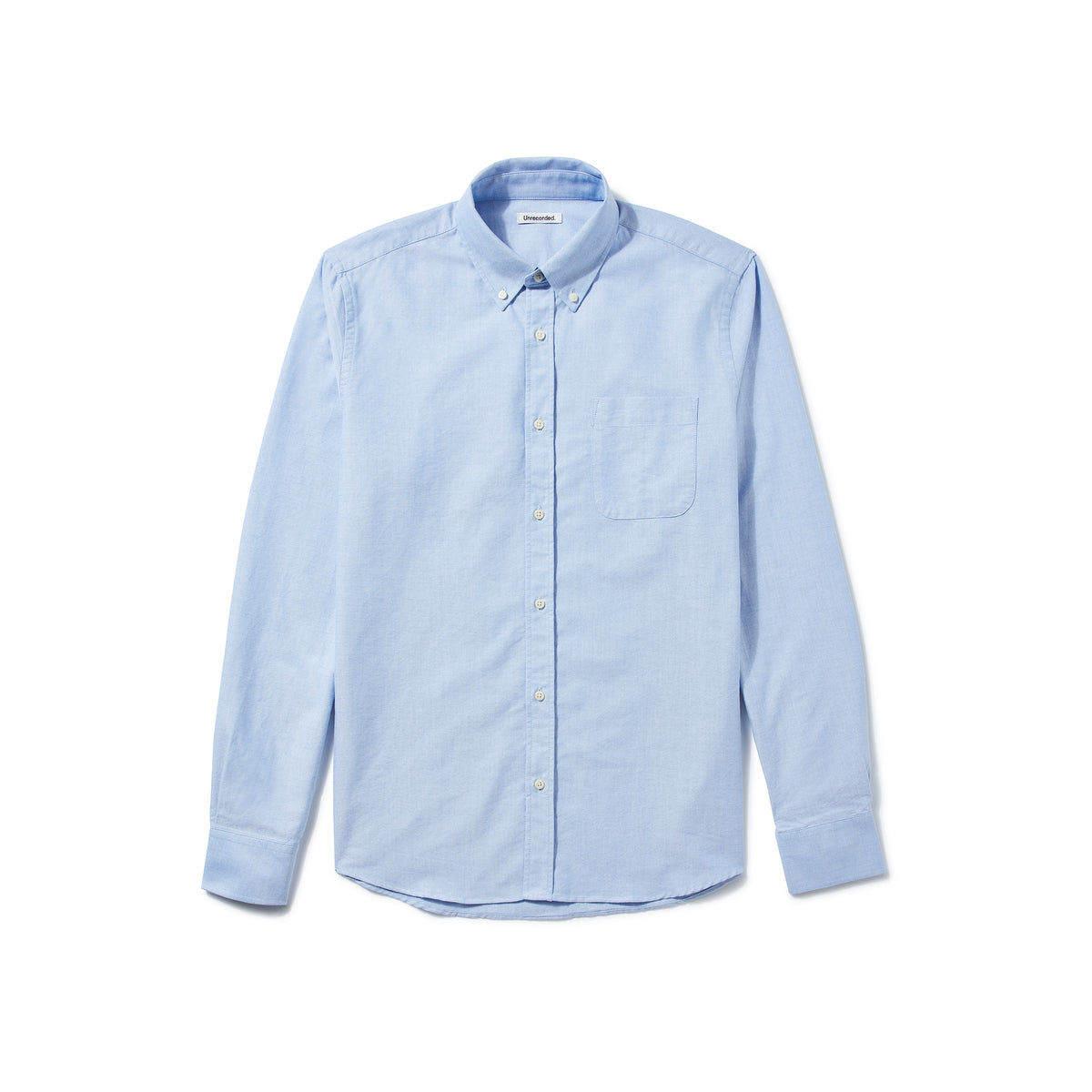 Oxford Shirt Light Blue - Unrecorded