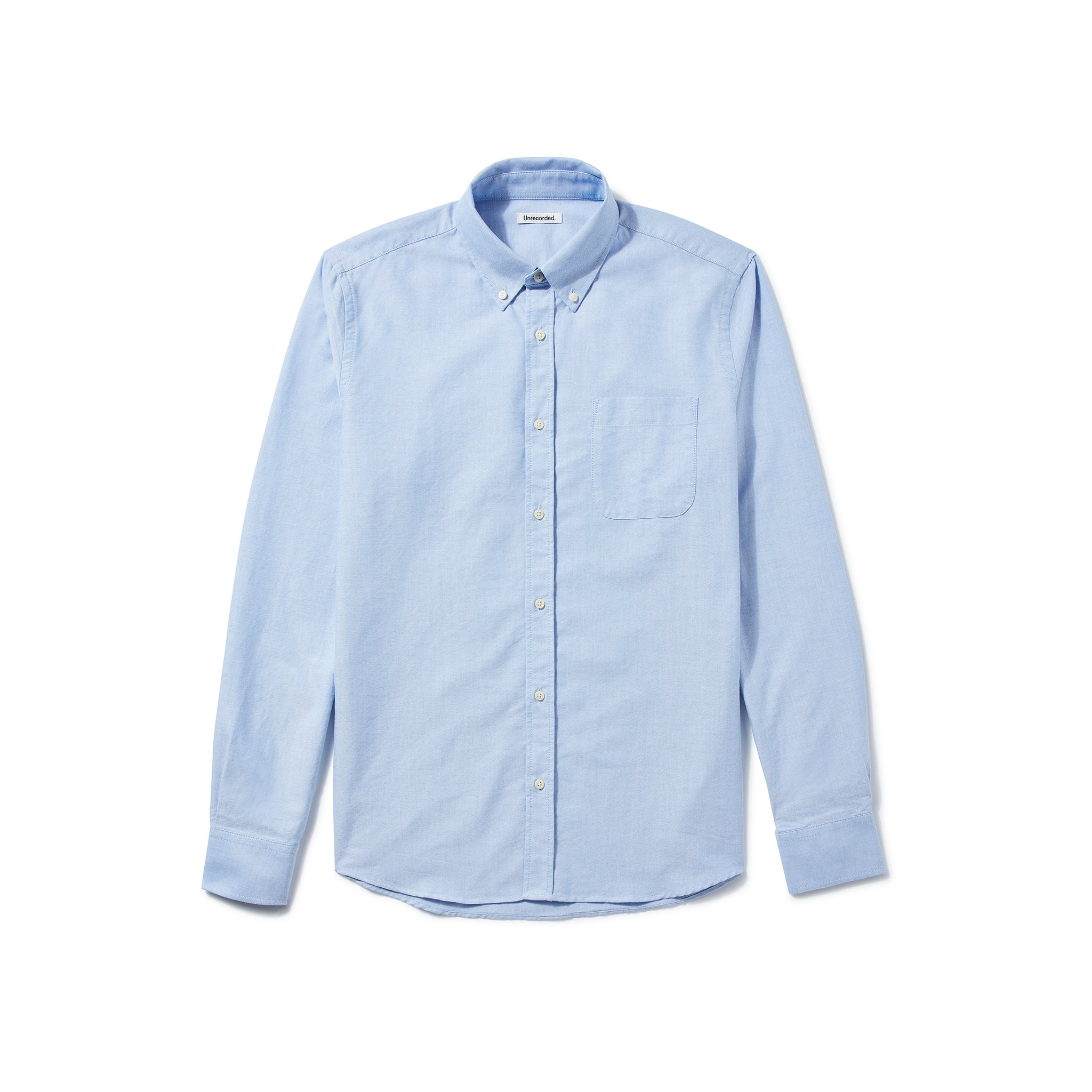Oxford Shirt in Light Blue made from Organic Cotton - Alternate